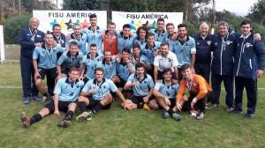 Liga Universitaria de Deportes JUSBA 2016 fútbol medalla de oro