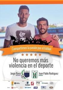 Liga Universitaria de Deportes sumándose a la campaña contra la violencia en el deporte