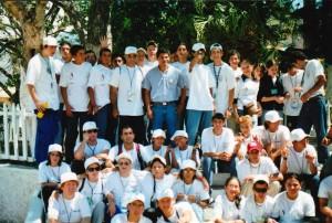 Connecticut 1995 y medallistas celestes