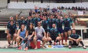 Rugby ganador de ISEF en Unisinos
