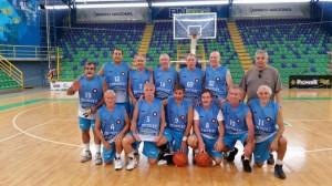 Competencia internacional representando a la Celeste por parte de la Uni´+on de Veteranos de Basketball del Uruguay