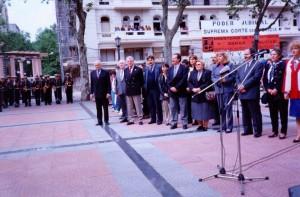 Primera Marcha de la Antorcha (Special Olimpics), Atilio Francoise 1996